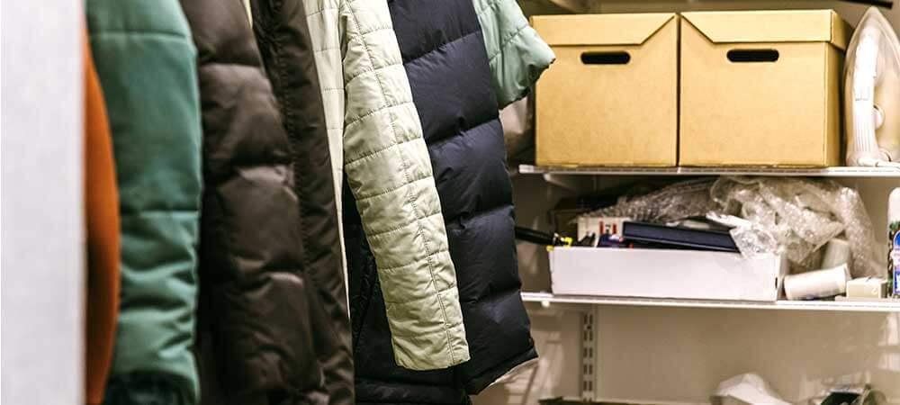 Clutter in the closet
